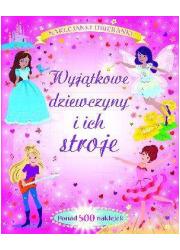 Wyjątkowe dziewczyny i ich stroje. - okładka książki