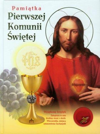Pamiątka Pierwszej Komunii Świętej - okładka książki