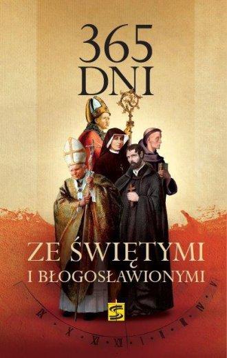 365 dni ze świętymi i błogosławionymi - okładka książki