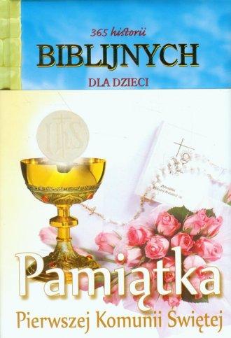 365 historii biblijnych dla dzieci. - okładka książki