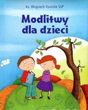 Modlitwy dla dzieci - okładka książki
