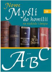 Nowe myśli do homilii na niedziele - okładka książki