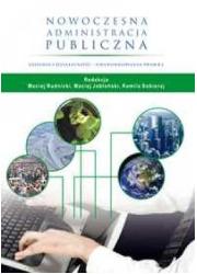 Nowoczesna administracja publiczna. - okładka książki