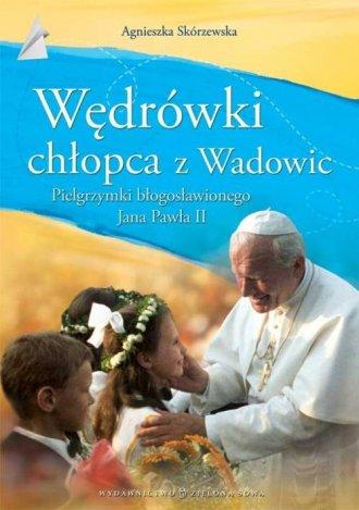 Wędrówki chłopca z Wadowic - okładka książki