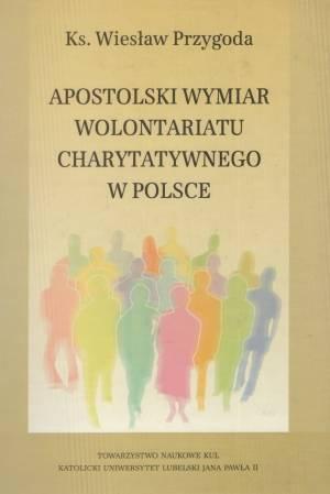 Apostolski wymiar wolontariatu - okładka książki