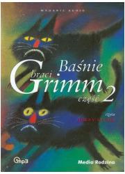Baśnie braci Grimm cz. 2 (CD mp3) - pudełko audiobooku