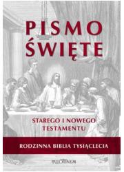 Biblia Tysiąclecia Rodzinna. Pismo - okładka książki