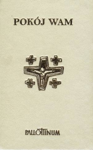 Pokój Wam. Modlitewnik (biały) - okładka książki