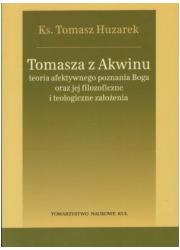 Tomasza z Akwinu teoria afektywnego - okładka książki