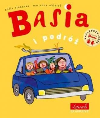 Basia i podróż - okładka książki