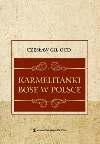 Karmelitanki Bose w Polsce - okładka książki