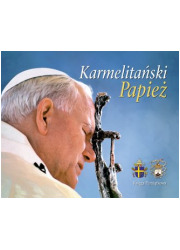 Karmelitański Papież. Księga Pamiątkowa - okładka książki