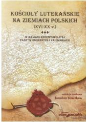 Kościoły luterańskie na ziemiach - okładka książki