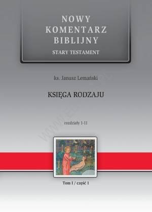 Księga Rodzaju. Rozdziały 1-11. - okładka książki