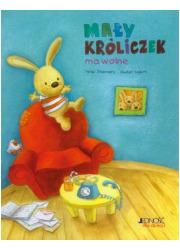 Mały króliczek ma wolne - okładka książki