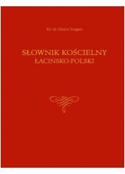 Słownik kościelny łacińsko-polski - okładka książki