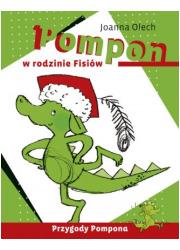Pompon w rodzinie Fisiów - okładka książki