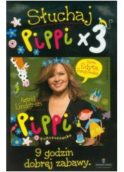 Słuchaj Pippi x 3 (CD mp3) - pudełko audiobooku