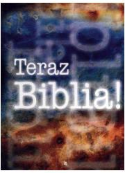 Teraz Biblia - okładka książki