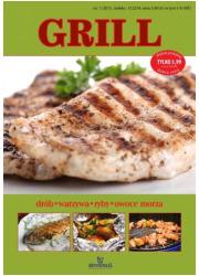 Grill: drób, warzywa , ryby, owoce - okładka książki