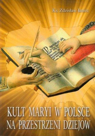 Kult Maryi w Polsce na przestrzeni - okładka książki