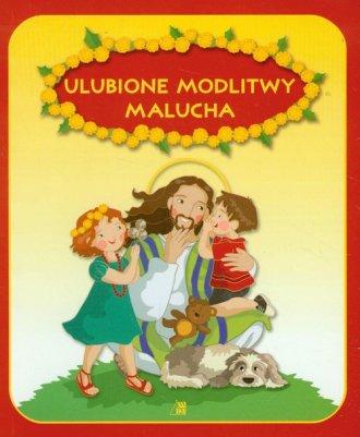 Ulubione modlitwy malucha - okładka książki