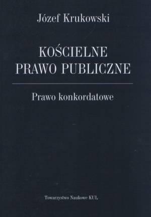 Kościelne prawo publiczne. Prawo - okładka książki