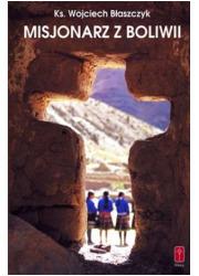 Misjonarz z Boliwii - okładka książki