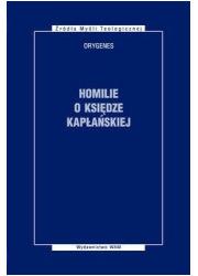 Homilie o księdze kapłańskiej. - okładka książki