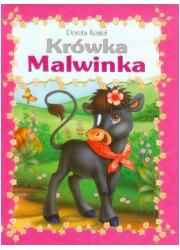 Krówka Malwinka - okładka książki