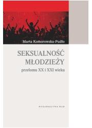 Seksualność młodzieży przełomu - okładka książki