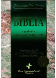 Biblia w przekładzie księdza Jakuba - okładka książki