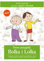 Nowe przygody Bolka i Lolka. Czyta: - pudełko audiobooku