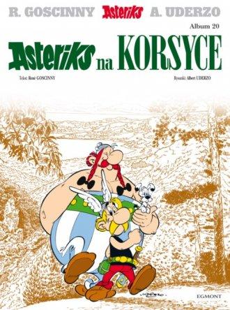 Asteriks na Korsyce. Tom 20 - okładka książki