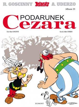 Asteriks. Podarunek Cezara. Tom - okładka książki