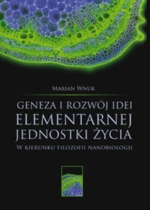 Geneza i rozwój idei elementarnej - okładka książki