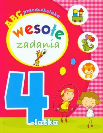 ABC przedszkolaka. Wesołe zadania - okładka książki