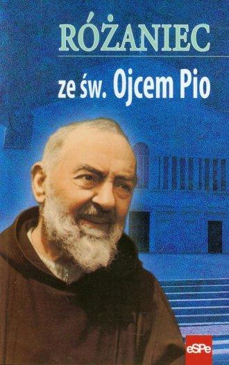 Różaniec ze św. Ojcem Pio - okładka książki