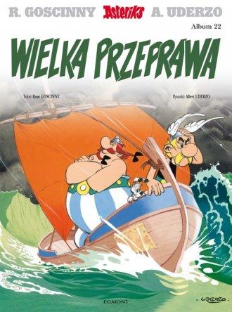 Wielka przeprawa. Asterix. Album - okładka książki