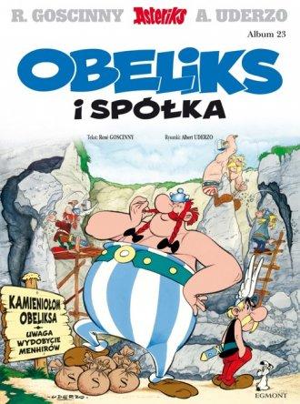 Obeliks i spółka. Asterix. Album - okładka książki