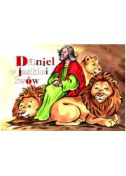 Daniel w jaskini lwów. Malowanka - okładka książki