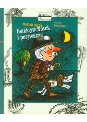 Detektyw Nosek i porywacze - okładka książki