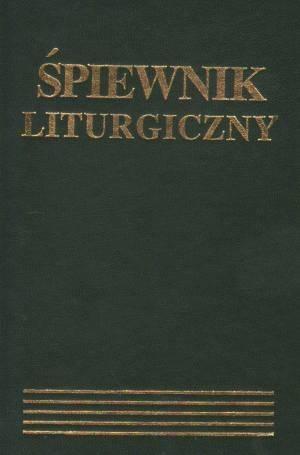 Śpiewnik liturgiczny - okładka książki