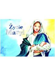 Życie Maryi. Malowanka dla dzieci - okładka książki