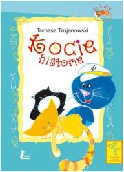 Kocie historie - okładka książki