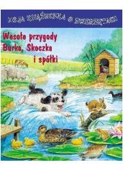 Moja książeczka o zwierzętach. - okładka książki