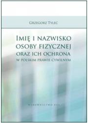 Imię i nazwisko osoby fizycznej - okładka książki
