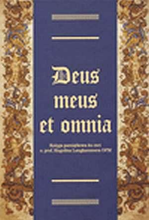 Deus meus et omnia - okładka książki