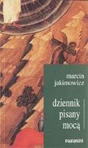 Dziennik pisany mocą - okładka książki
