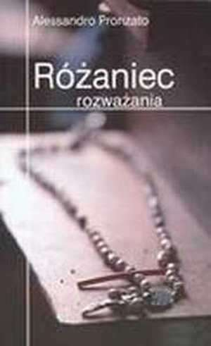 Różaniec rozważania - okładka książki